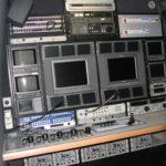 Notranjost reportažnega avtomobila